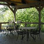 Gazebo Outdoor Eating Area