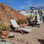 The 'famous' top floor terrace