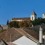 View from the terrace towards Tavira historical center