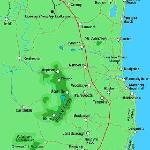 Sunshine Coast area map