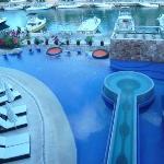 The pool at Club Aventuras in Puerto Aventuras