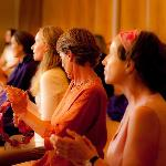 Relax in the evenings with joyful kirtan programs