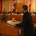 Nuremberg courtroom