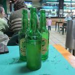 botellas de sidra, se consumen cientos