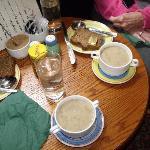 The best mushroom soup!  Wish I had the recipe!