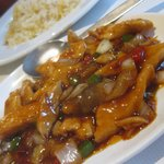 sze chuan chicken and fried rice