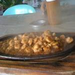 Shrimp Sizzling at Ging-Ging's Restaurant