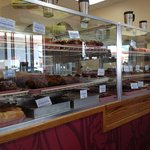 Wide selection of cakes and pastries