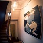 Escaliers menant aux chambres d'hôtes