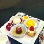 desserts - part of the high tea package