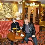 Imperial bar - arrival in Prague