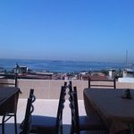 hotel's terrace