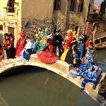 bridge Pontechiodo on Carneval