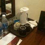 tea/ coffee maker n complimentary water