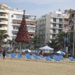 Canteras Strand mit Hotel