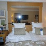 Twin bed on superior room