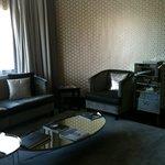 salotto suite presidenziale