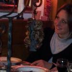 viande flambee a table