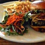A Kobe Beef Burger.....Yummo!