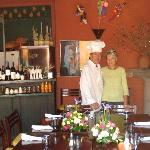 1st Italian Restaurant in San Miguel de Allende. Daniel y Esther Ramirez.