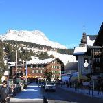 Hotel Krone, Lech, Oostenrijk.
