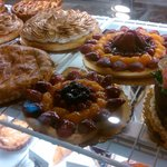 Close up of pastries #3