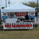 Our Waldo's Booth can be set up anywhere!