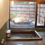 貸切風呂には内湯と露天があります
