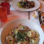 Tortellini and Pheasant