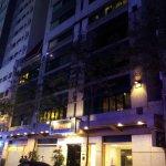 Hotel entrance (The Minden)