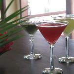 Delicious fresh juices...