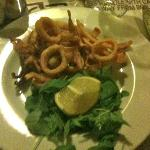 la frittura di calamari
