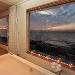 Bath with a view - suite