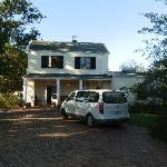 front view & secure parking