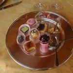 dessert a discrezione dello chef