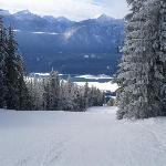 Skigebiet mit wunderbaren Abfahrten