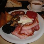 Wonderful cooked breakfast :-)