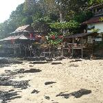 restaurant from the beach