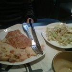 Crêpe Tartiflette et sa salade