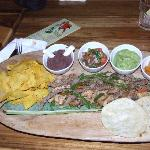our dinner at Vida Vida a local restaurant