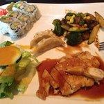 teriyaki chicken lunch combination