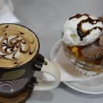 Cappuccino and Baladina cup