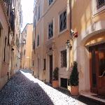 Quiet Poliachi alley