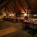 Thatched  lapa used for dining