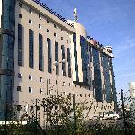 l'hotel Ibis vue de dos