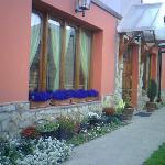 La casa con los colores de las flores!!!