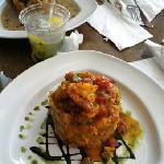 shrimp mofongo! yummy!