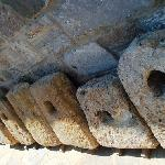 These were used as ballast on ancient ships.