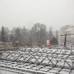 vista dalla camera 226 sotto la neve