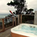 Ocean View Hot Tub Jacuzzi at Panaseah